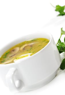 Free Vegetable Soup Stock Photography - 9731222