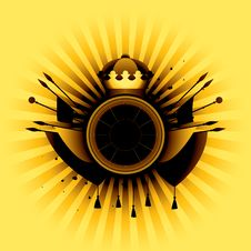 Free Heraldic Simbol Royalty Free Stock Image - 9731496