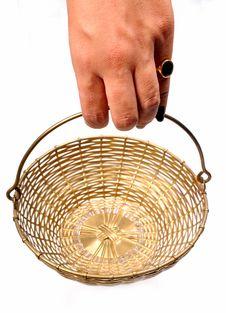 Free Holding Basket Stock Photography - 9731872