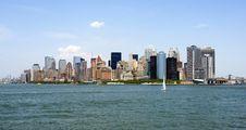 Free Manhattan Royalty Free Stock Photos - 9732238