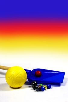 Free Beach Toys Royalty Free Stock Photography - 9732487