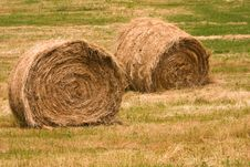 Free Hay Bales Stock Photos - 9733453