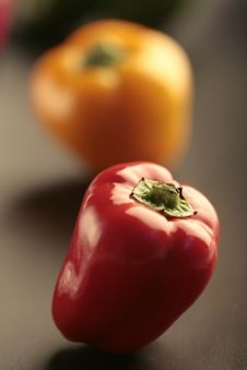 Free Colored Peppers Stock Photo - 9733610