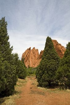 Free Garden Of The Gods Royalty Free Stock Photo - 9733665