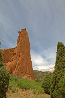 Free Garden Of The Gods Royalty Free Stock Photography - 9733677