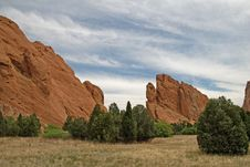 Free Garden Of The Gods Royalty Free Stock Photo - 9733695