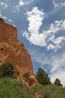 Free Garden Of The Gods Royalty Free Stock Photography - 9733717