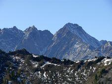 Free Peaks Royalty Free Stock Image - 9733836