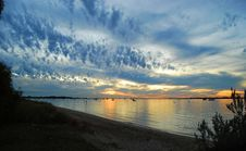 Free Evening Sky Stock Image - 9734361