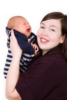Free Newborn Baby Royalty Free Stock Photos - 9734568