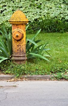 Free Fire Hydrant Stock Images - 9734964