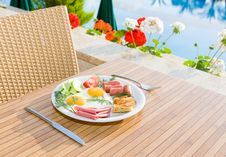 Free Served Breakfast Royalty Free Stock Image - 9735846