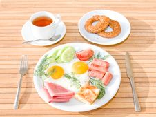 Free Served Breakfast Royalty Free Stock Image - 9735896