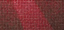 Red Mosaic Royalty Free Stock Photo