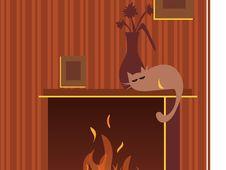Frame Illustration Royalty Free Stock Photo