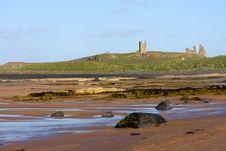 Free Northumbrian Coastline Stock Photography - 9736662