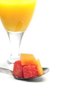Free Healthy Breakfast Royalty Free Stock Photo - 9737045