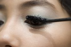 Free Eye Makeup Stock Photo - 9737220