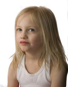 Free Grumpy Child Stock Photo - 9737470
