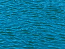Waves On Water Royalty Free Stock Image