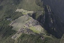 Machu Picchu Ruins Stock Photos
