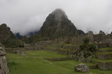 Free Machu Picchu Ruins Royalty Free Stock Photos - 9738518