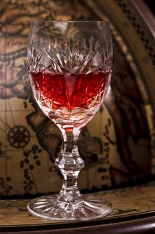 Free Glass Of Wine Royalty Free Stock Image - 9738586