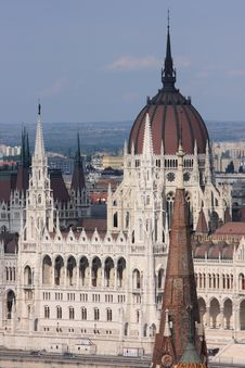 Free The Hungarian Parliament Building Stock Photography - 9739042