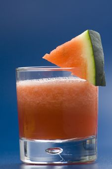 Free Refreshing Cold Watermelon Juice Stock Photo - 9739880