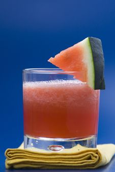 Free Refreshing Cold Watermelon Juice Royalty Free Stock Photo - 9739935