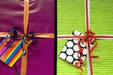 Free Gift Boxes Royalty Free Stock Photos - 9739998
