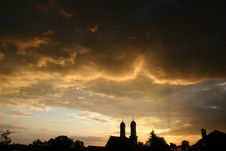 Free Sky, Cloud, Afterglow, Atmosphere Stock Photography - 97348582