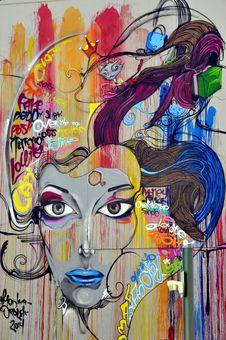 Free Art, Modern Art, Painting, Street Art Stock Photography - 97348812