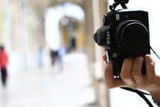 Free Cameras & Optics, Single Lens Reflex Camera, Camera, Photographer Stock Photography - 97350062
