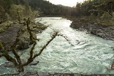 Free Colliding Rivers, Glide, Oregon Stock Photography - 97381882