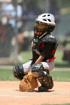 Free Boy In Black Power Balt Baseball Helmet Royalty Free Stock Photos - 97381988