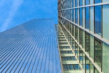 Free Low Angle View Of Office Building Against Sky Royalty Free Stock Photo - 97382065