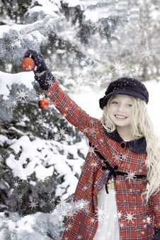 Free Winter Cold Girl Hat Stock Photo - 97382240