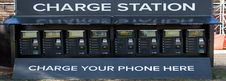 Free Phone Charging Trailer Royalty Free Stock Images - 97382509
