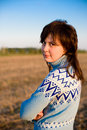 Free Sunny Girl Portrait Stock Photos - 9741893