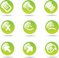 Free Icons Set Royalty Free Stock Image - 9748366