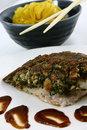 Free Fish And Pasta Royalty Free Stock Photos - 9748588