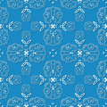 Free Seamless Ornament Pattern Royalty Free Stock Photography - 9749587