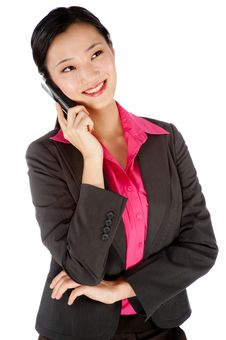Free Businesswoman On The Phone Stock Images - 9741284
