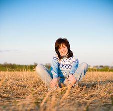 Free Smiling Girl Portrait Stock Photo - 9741880
