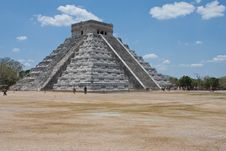 Chichen Itza Pyramid Royalty Free Stock Photos