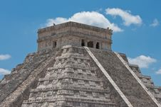 Free Chichen Itza Pyramid Royalty Free Stock Photo - 9742635