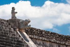Free Chichen Itza Pyramid Stock Photos - 9742723