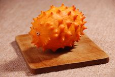 Kiwano Fruit Royalty Free Stock Images