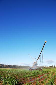 Free Irrigation Pivot System Royalty Free Stock Photography - 9743047